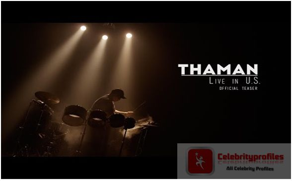 SS Thaman Live in U.S. Official Teaser
