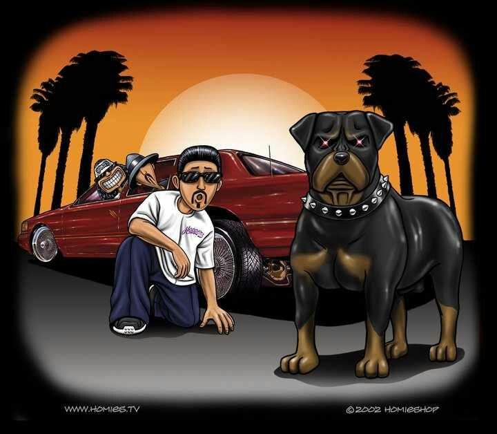 Artist David Gonzales ♥ | Art LowRider Gangster Homie ...
