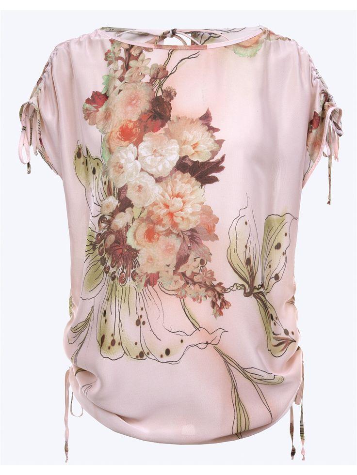 Блузка LO. Цвет персиковый.