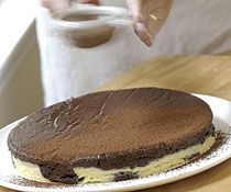 Flourless Chocolate & Vanilla Marble Cake - Fine Cooking Recipes ...