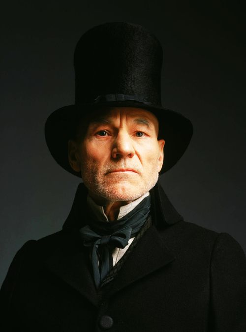 26 reasons to love Patrick Stewart. He does Dickensian pomp like nobody else.