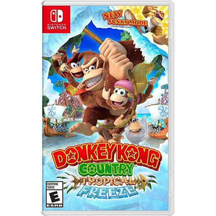 Donkey Kong Country Tropical Freeze Nintendo Switch Switch Nintendo Switch Nintendo For Sales Switch Ninte Juegos De Wii Nintendo Juegos De Minecraft