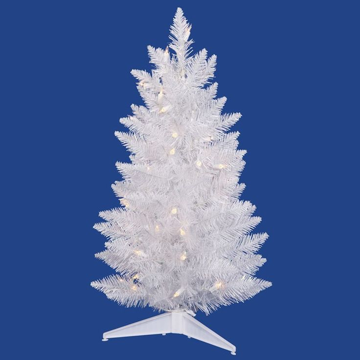 95 Best Tabletop Artificial Christmas Trees Images On Pinterest  - Vickerman Pre Lit Christmas Trees