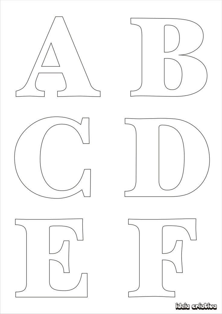 letras para imprimir mayusculas - Buscar con Google