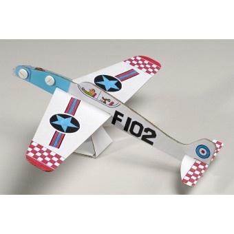 en voilà une chouette idée d'activités manuelles enfants !  fabriquer tes avions et lance les dans le jardin pour les faire voler :)    http://www.chagribouille.com/490-kit-loisirs-creatifs-mes-z-avions.html