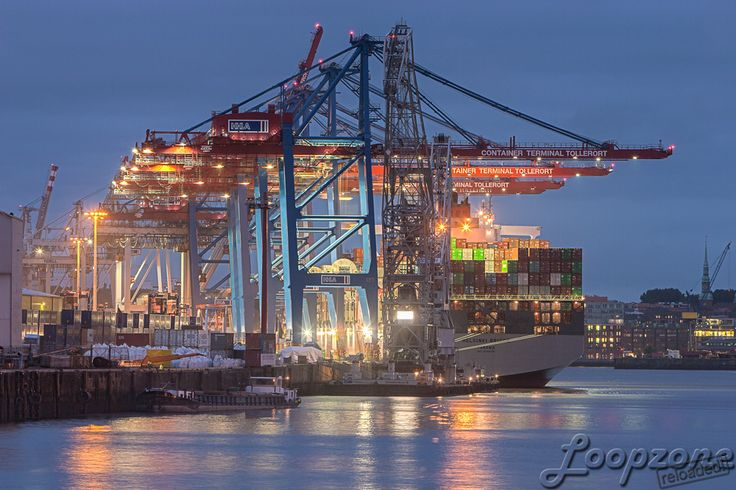 #hdr #port #hamburg #germany // HDR-Fotografie www.Loopzone.de