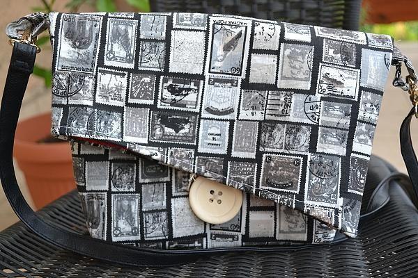 Vraj prvá vlastnoručne šitá kabelka od adriana842. Kiež by každý prvý pokus dopadol takto parádne:)  Kabelka, taška, šitie | Artmama.sk