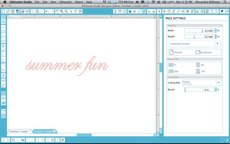How to fill in fonts to sketch with Silhouette sketch pens.