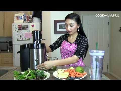 Healthy Green Juice (Juicing)