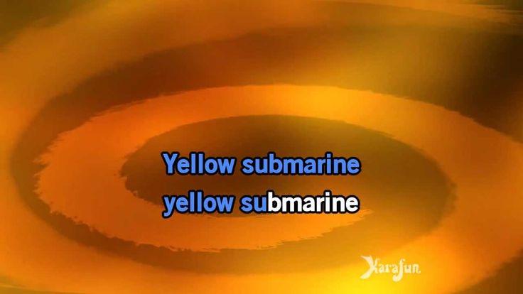 Karaoke Yellow Submarine - The Beatles *