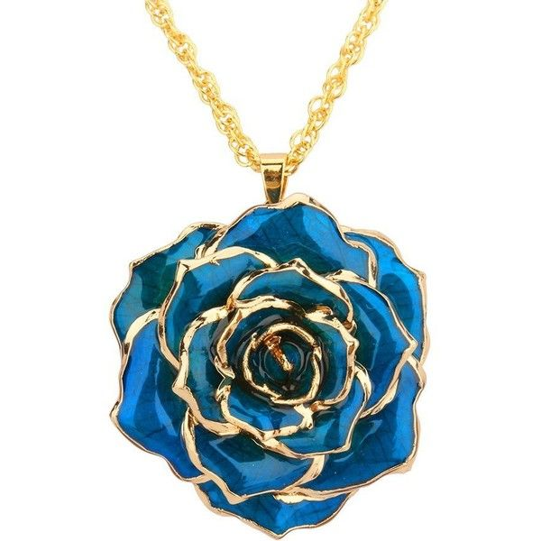 The 25 best 24k gold chain ideas on pinterest 24k gold ring 19 liked on polyvore featuring jewelry necklaces blue necklace 24k gold necklace 24k gold pendant gold pendant necklace and rose aloadofball
