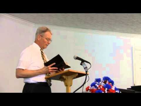 John 15:26-16:7 -  Two Witnesses to Christ & Jesus' Encouraging Words  Message by Pastor Bob Lanning  7-12-2015