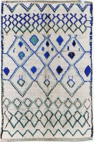 Vintage Moroccan rug | Azilal tribe