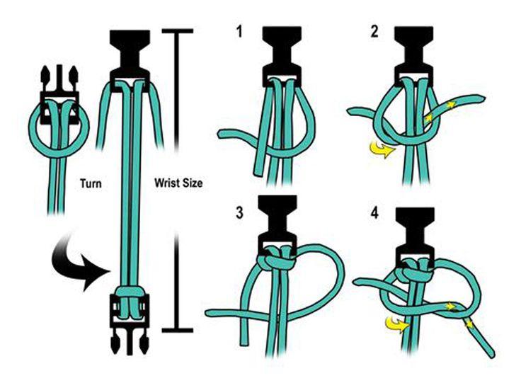Схемы плетения из паракорда в картинках кобра
