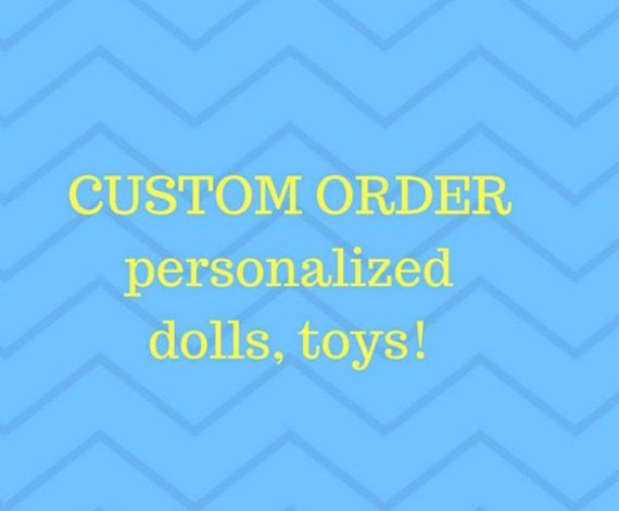 Custom order toy especially for Steve Custom made doll Made to