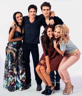 The Vampire Diaries Cast #TVD
