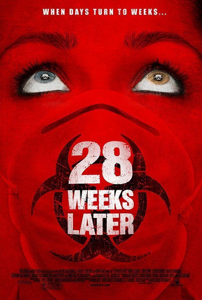 28 Semanas Despues 28 Weeks Later De Juan Carlos Fresnadillo 2007 Peliculas De Terror Horror Movie Posters Buenas Peliculas De Terror