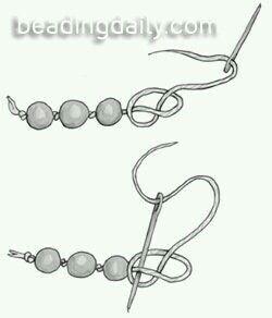 Engarzar perlas