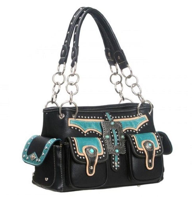 Concealed weapon Handbag, Rancho Buckle Montana west Purse ,western purse store  #MontanaWest #ShoulderBag