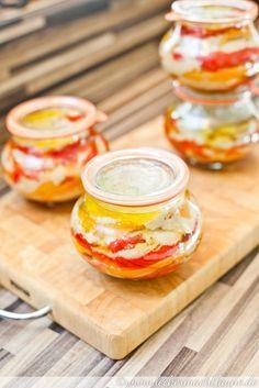 Paprika-Knoblauch-Antipasti {einmachwoche}   lecker macht laune