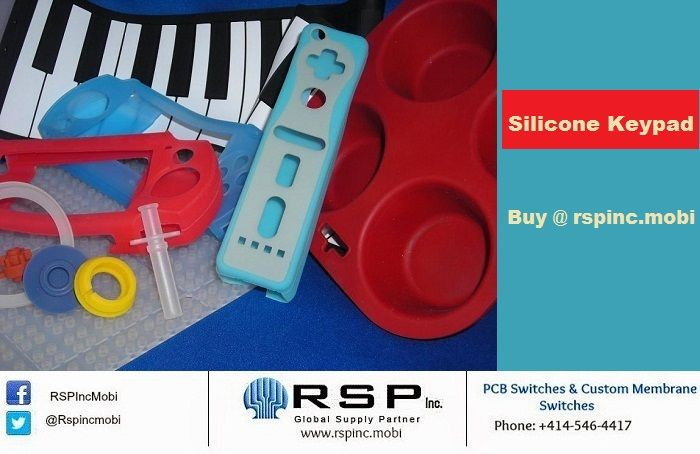 #SiliconeKeypad is highly supportive for multiple molded and printed colors, backlighting effects of graphics and textures, spray and much more.  Get the details here @ http://goo.gl/k12baJ