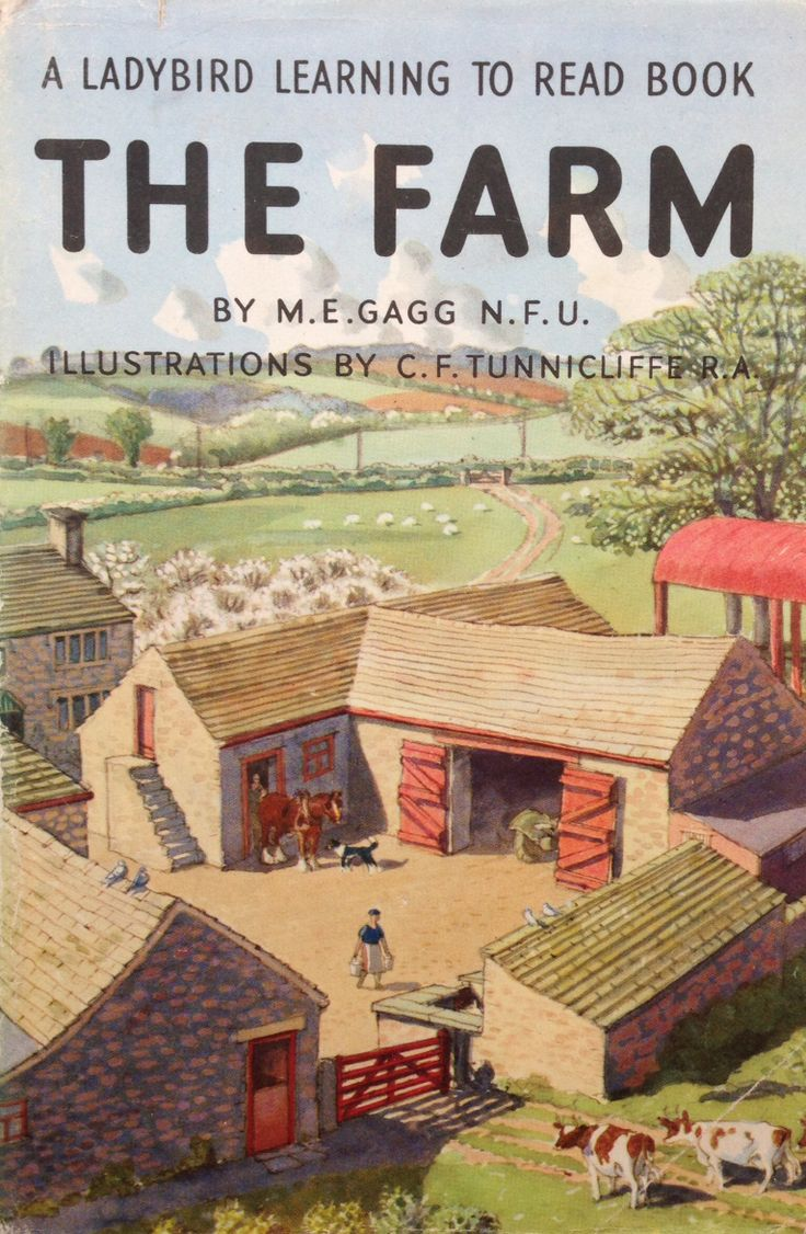 Watercolor book covers - Buy The Farm A Vintage Ladybird Book From The Learning To Read Series 563 Matt Hardback 1978 Here Is Another Ladybird Book Which Has Been Especially