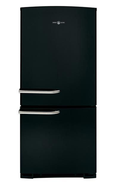 GE Artistry Series Refrigerator in black