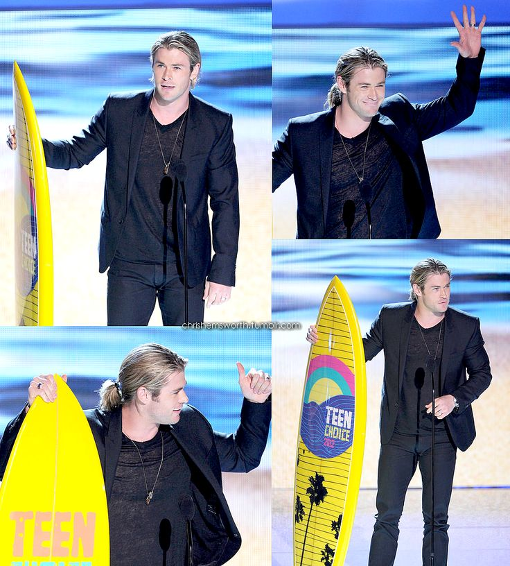 Chris Hemsworth <3 - Teen Choice Awards 2012 Winner!! <3
