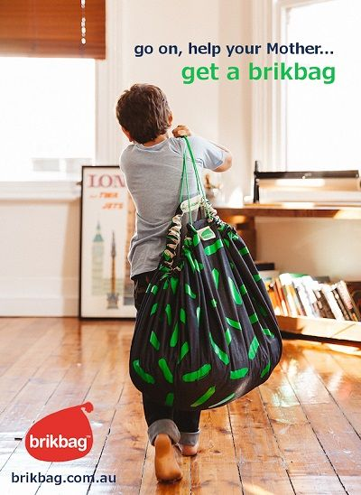 win a brikbag this Mother's Day!