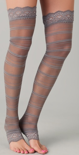 Falke Delicate Toeless Tights - too grey?
