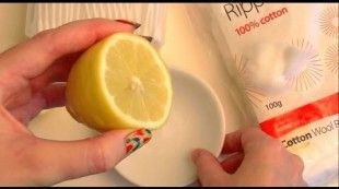 NATURALLY FADE ACNE SCARS with LEMON