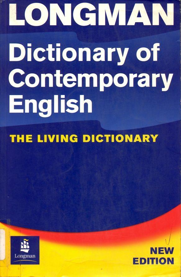 #longman #dictionaryofcontemporaryenglish #diccionarios #inglés #idiomas #escueladecomerciodesantiago #bibliotecaccs