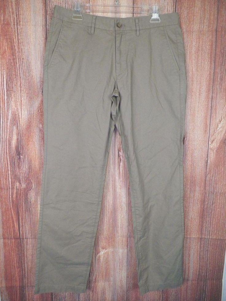 Bonobos Mens Summer Weighted Slim Chinos Straight Pants Size 3x30 Khaki NWOT #12 #Bonobos #KhakisChinos