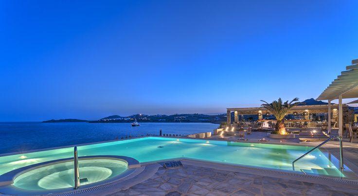 #Infinity Pool @Colonia Pool Restaurant overlooking the #Aegean #Sea