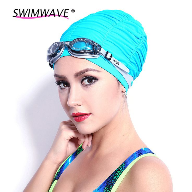 ==> [Free Shipping] Buy Best Elastic Ultrathin PU Fabric Protect Ears Long Hair Sports Swim Pool Hat Swimming Cap Free Size for Men Women Adults Online with LOWEST Price   32767508787