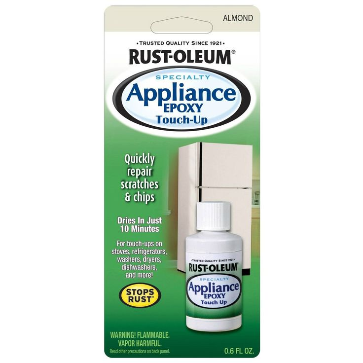 Rust-Oleum 203001 Specialty Appliance Epoxy Touch Up, 0.6 Oz, Almond