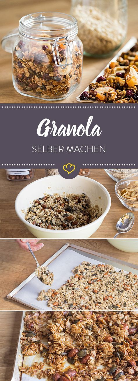 granola selber machen rezept m sli zucker und frei. Black Bedroom Furniture Sets. Home Design Ideas