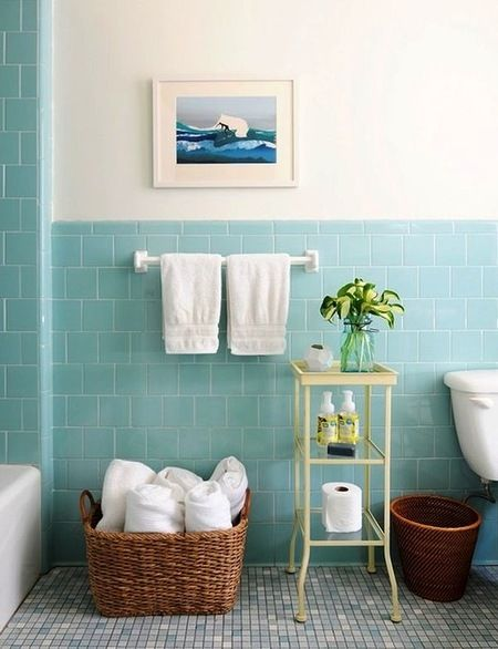 Морская тема в ванной: 11 идей фото 2
