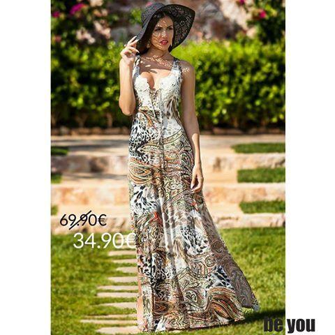 A little spicy... A lot flirty... Φόρεμα > http://goo.gl/6b3WWS #summerdress #beyoucomgr #animalprint #sexy #sale