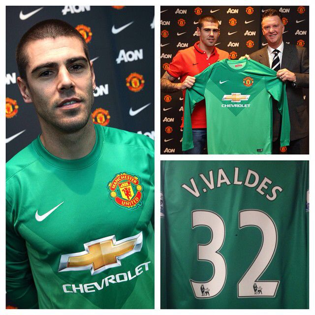 @VicValdes1 will wear the no.32 #mufc shirt. #WelcomeValdes