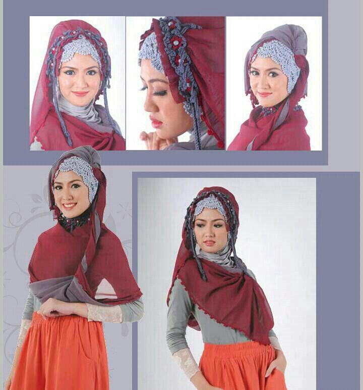 Hijab Rajut MUZKIYAH (Pashmina)