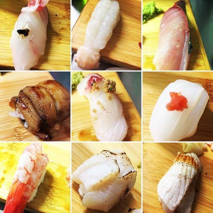 シドニーで寿司  #sydney  #crowsnest  #sushi  #クエ  #longtoothgrouper  #スキャンピー  #scampi  #いか  #squid  #アナゴ  #conger  #甘エビ  #deepwatershrimp #鯛  #redsnapper  #ヒラマサ  #amberjack  #わさび  #wasabi  #ガリ  #japanesechef  #板さん  #aburi  #炙り  #ホタテ  #scallop by naomi.0607