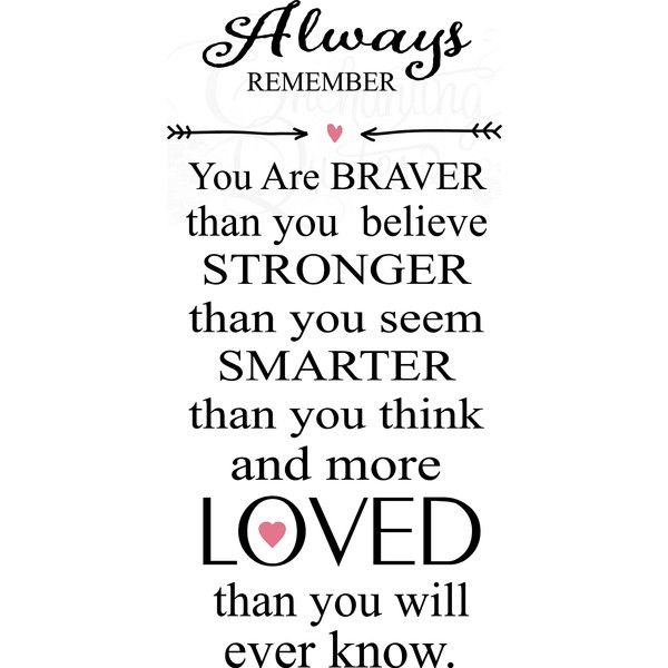 Always Remember Nursery Wall Quote ❤ liked on Polyvore featuring quotes, text, words, phrase and saying