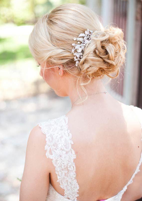 David's Bridal wedding dress | photo by Candice Benjamin | 100 Layer Cake
