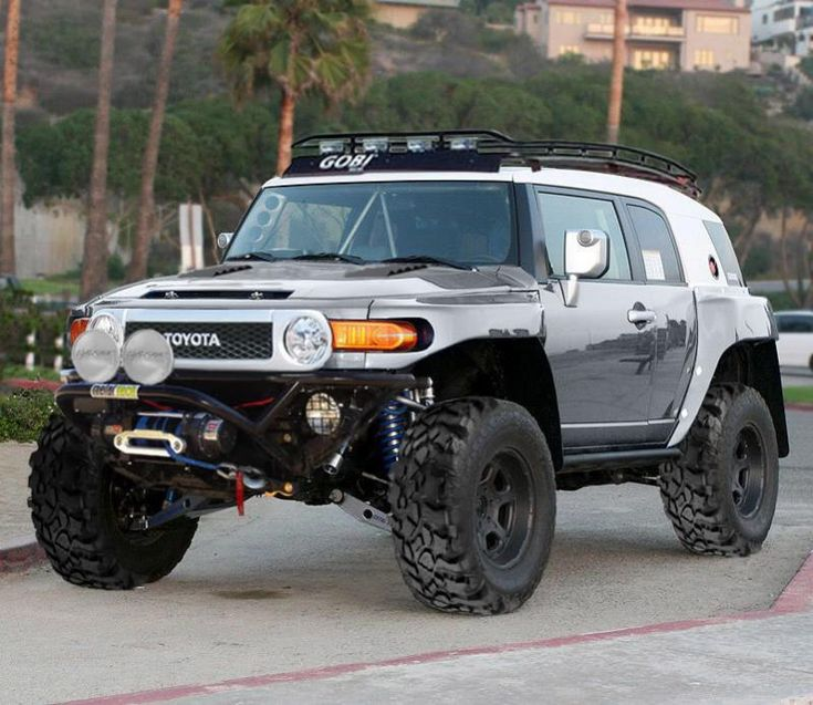 CUSTOM SILVER  TOYOTA FJ CRUISER | Click image for larger versionName:11111111.jpgViews:10253Size:83.7 ...