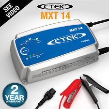 NEW CTEK MXT14 Battery Charger 24 Volt 24V 14A 14 AMP Bus Truck CV Workshop