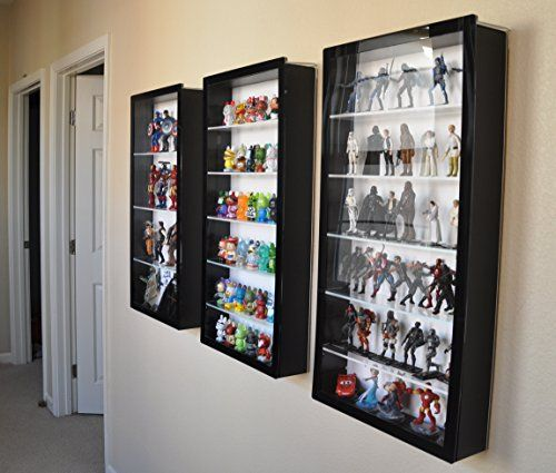 "Action Figure Display Case - 3 3/4"" Scale"