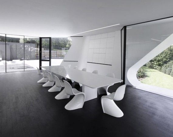 Futuristic House Design In Germany · Architecture Interior DesignHome ...