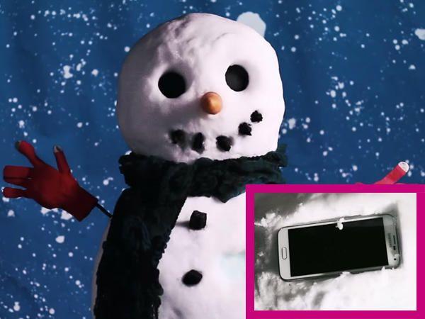 Rayakan Natal, Ini Manusia Salju yang Terbuat dari Samsung GALAXY S5! - Yahoo News Indonesia