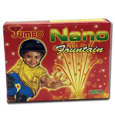 Buy online Nano Fountain (Small Crackling Flower Pot) by Jumbo  -  Fireworks2home.com Ahmedabad